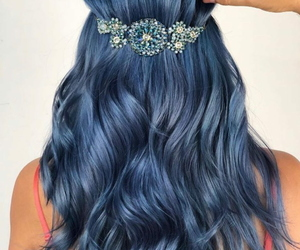 accessories, blue, and girl image