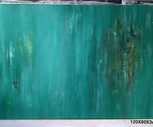 Abstract Painting, art, and contemporary art image
