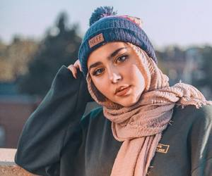 beauty, modest, and hijab image