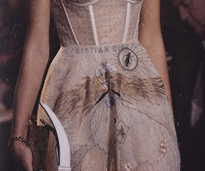 fashion, dress, and Christian Dior image