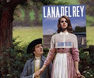 art, lana del rey, and born to die image