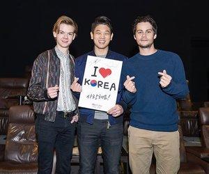 korea, maze runner, and dylan o'brien image
