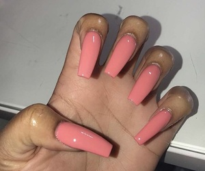claws, peachy, and nails image
