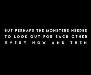 monsters, quotes, and frases image