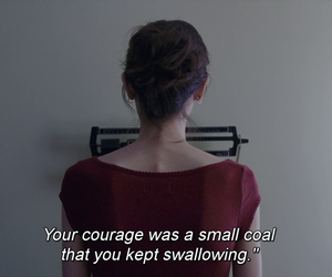 anne sexton, courage, and lily collins image