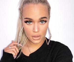 eyes, make up, and lottie tomlinson image