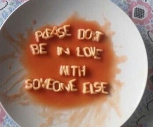 food, quotes, and sad image