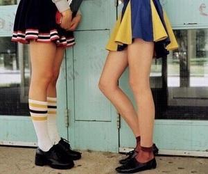 girl, skirt, and vintage image
