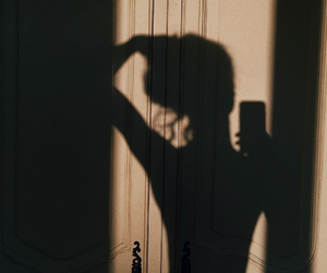 shadow, tumblr, and aesthetic image
