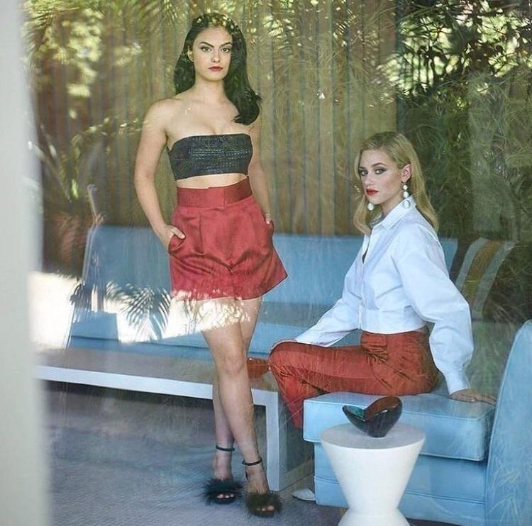 girls, style, and lili reinhart image
