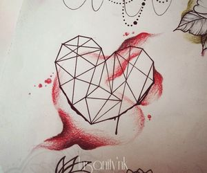 geometry, tattoosketch, and Tattoos image