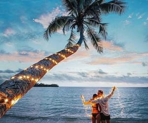 beach, ocean, and romantic image