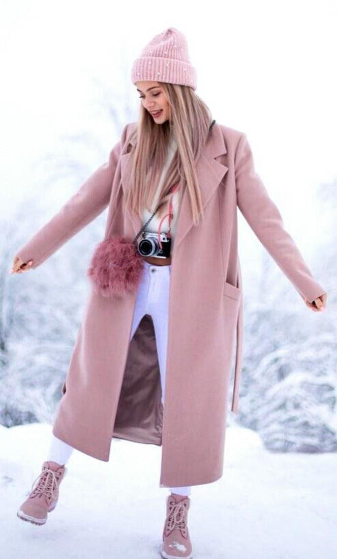 belleza, invierno, and moda image