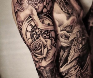 justin bieber, tattoo, and justinbieber image