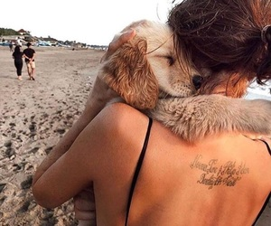 blessed, tattoo, and doglover image