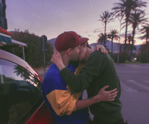 gay, couple, and love image