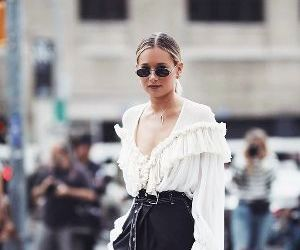 fashion week and street style image