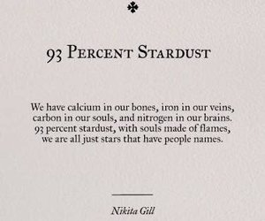 quotes, stardust, and stars image