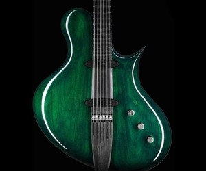 emerald, green, and guitars image