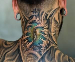 eye, tattoo, and eye tattoo image