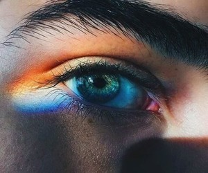 colour, eyes, and pastel image