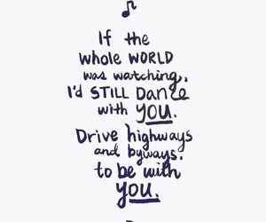 Lyrics, song, and quotes image