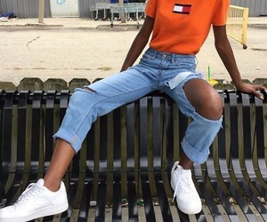 girls, outfit, and ootd image