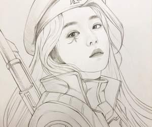 ana, drawing, and fanart image