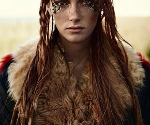 warrior, beauty, and photography image