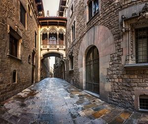 Barcelona, spain, and gothic quarter image