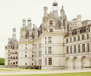 castle, france, and palace image