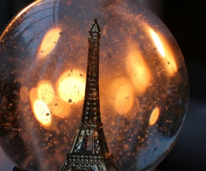 dreamy, lights, and paris image