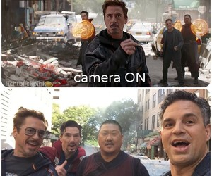 Marvel, Avengers, and robert downey jr image
