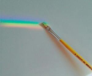 rainbow, art, and tumblr image