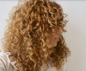 blond, curls, and curly image