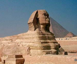 egypt, sphinx, and giza image