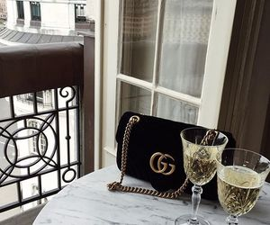 drink, fashion, and gucci image