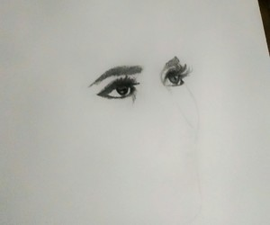 art, drawing, and face image