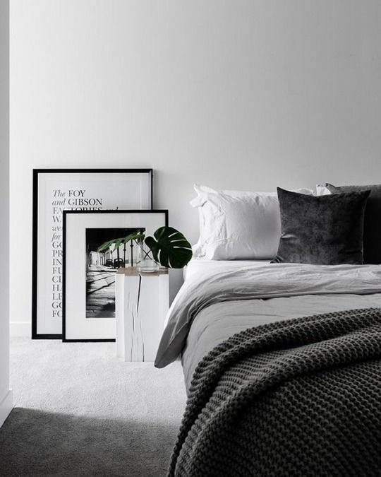 bedroom, interior, and minimalism image