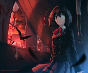 another, anime, and mei misaki image