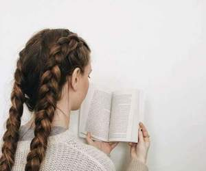 girl and reading image