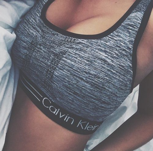 Calvin Klein, sport, and body image