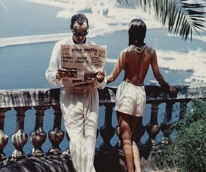 couple, summer, and vintage image