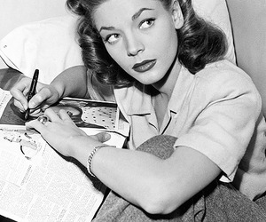 Lauren Bacall and old hollywood image