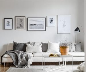 interior, living room, and minimal image