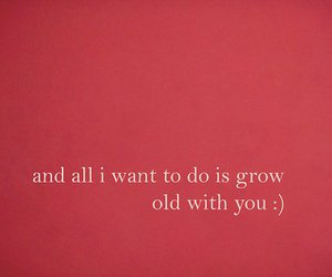 love, quote, and old image