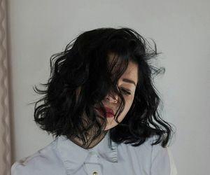 girl, hair, and short hair image