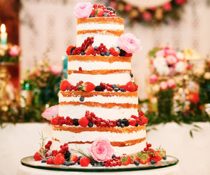 berry, cake, and food image