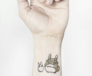 tattoo and totoro image