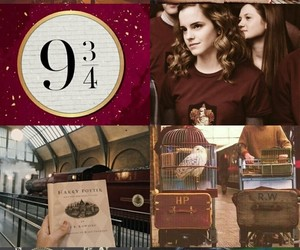 gryffindor, hermione, and 9 3 4 image